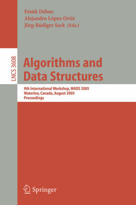 Algorithms and Data Structures: 2nd Workshop, WADS '91, Ottawa, Canada, August 14-16, 1991. Proceedings - Lecture Notes in Computer Science 519 (Paperback)