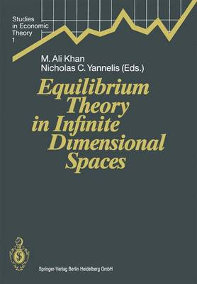 Equilibrium Theory in Infinite Dimensional Spaces - Studies in Economic Theory 1 (Hardback)