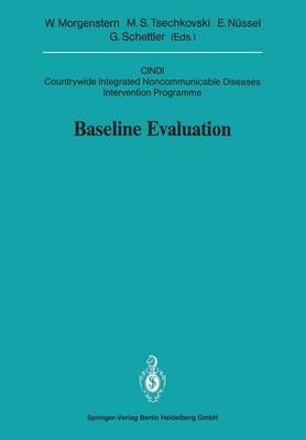 Baseline Evaluation: CINDI Countrywide Integrated Noncommunicable Diseases Intervention Programme - Sitzungsber.Heidelberg 91 1991 / 1991/3 (Paperback)