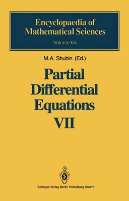 Partial Differential Equations VII: Spectral Theory of Differential Operators - Encyclopaedia of Mathematical Sciences 64 (Hardback)