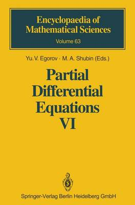Partial Differential Equations VI: Elliptic and Parabolic Operators - Encyclopaedia of Mathematical Sciences 63 (Hardback)