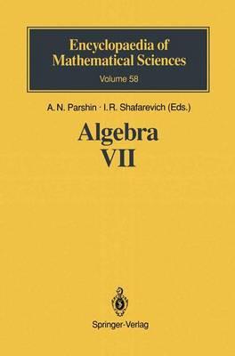 Algebra VII: Combinatorial Group Theory Applications to Geometry - Encyclopaedia of Mathematical Sciences 58 (Hardback)