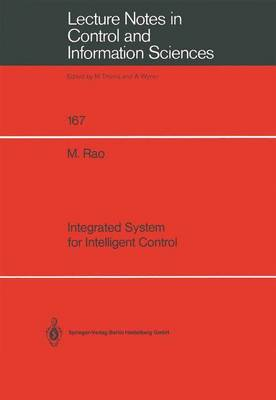 Integrated System for Intelligent Control - Lecture Notes in Control and Information Sciences 167 (Paperback)