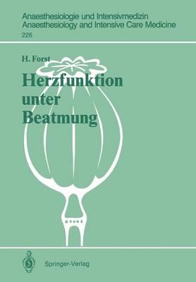 Herzfunktion Unter Beatmung (Paperback)