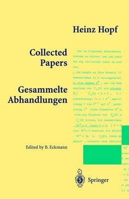 Collected Papers: Gesammelte Abhandlungen (Paperback)