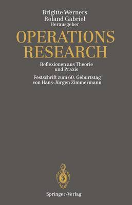 Operations Research (Hardback)