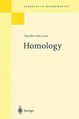 Homology - Classics in Mathematics (Paperback)