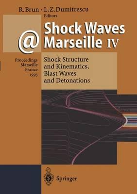 Shock Waves @ Marseille IV: Shock Structure and Kinematics, Blast Waves and Detonations (Hardback)