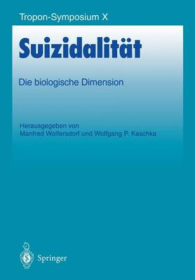 Suizidalitat - Bayer-Zns-Symposium 10 (Paperback)