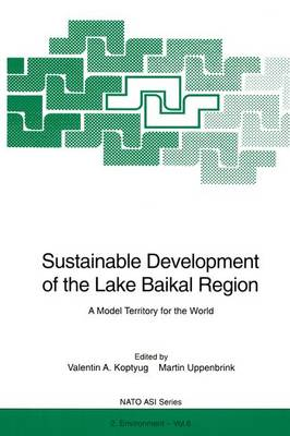 Sustainable Development of the Lake Baikal Region: A Model Territory for the World - Nato Science Partnership Subseries: 2 6 (Hardback)