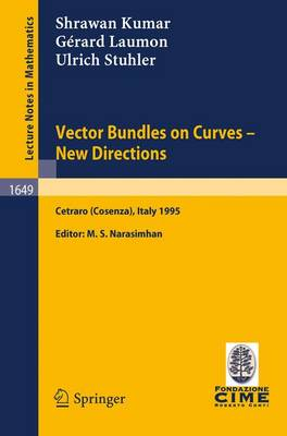 Vector Bundles on Curves - New Directions: Lectures given at the 3rd Session of the Centro Internazionale Matematico Estivo (C.I.M.E.), held in Cetraro (Cosenza), Italy, June 19-27, 1995 - C.I.M.E. Foundation Subseries 1649 (Paperback)