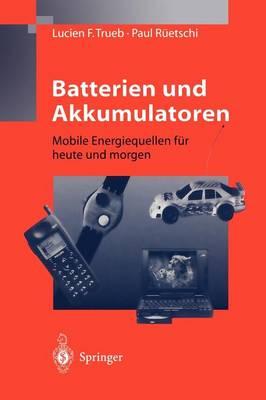 Batterien Und Akkumulatoren (Paperback)