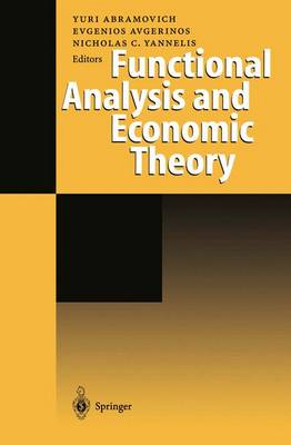 Functional Analysis and Economic Theory (Hardback)