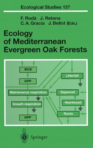 Ecology of Mediterranean Evergreen Oak Forests - Ecological Studies v.137 (Hardback)