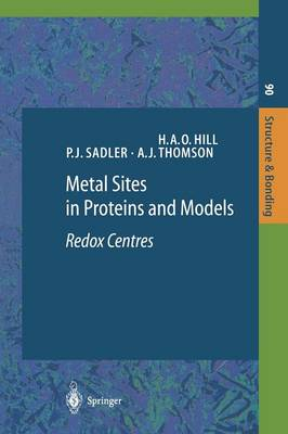 Metal Sites in Proteins and Models: Redox Centres - Springer Desktop Editions in Chemistry (Paperback)