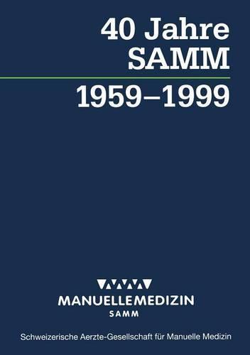 40 Jahre SAMM (Paperback)