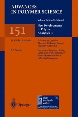 New Developments in Polymer Analytics II - Advances in Polymer Science 151