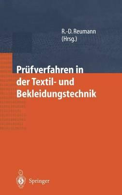 Prufverfahren in Der Textil- Und Bekleidungstechnik (Hardback)