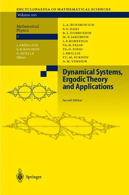 Dynamical Systems, Ergodic Theory and Applications - Encyclopaedia of Mathematical Sciences 100 (Hardback)
