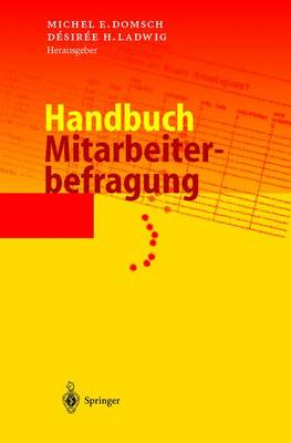 Handbuch Mitarbeiterbefragung (Hardback)
