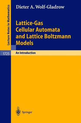 Lattice-Gas Cellular Automata and Lattice Boltzmann Models: An Introduction - Lecture Notes in Mathematics 1725 (Paperback)