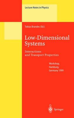 Low-Dimensional Systems: Interactions and Transport Properties - Lecture Notes in Physics 544 (Hardback)