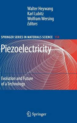 Piezoelectricity: Evolution and Future of a Technology - Springer Series in Materials Science 114 (Hardback)