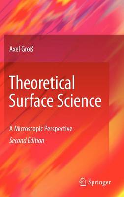 Theoretical Surface Science: A Microscopic Perspective (Hardback)