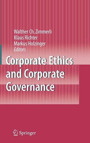 Corporate Ethics and Corporate Governance (Hardback)