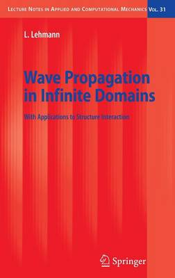 Wave Propagation in Infinite Domains: With Applications to Structure Interaction - Lecture Notes in Applied and Computational Mechanics 31 (Hardback)