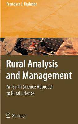 Rural Analysis and Management: An Earth Science Approach to Rural Science (Hardback)