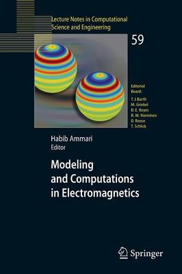 Modeling and Computations in Electromagnetics: A Volume Dedicated to Jean-Claude Nedelec - Lecture Notes in Computational Science and Engineering 59 (Paperback)