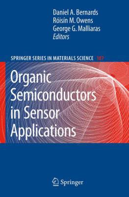 Organic Semiconductors in Sensor Applications - Springer Series in Materials Science 107 (Hardback)