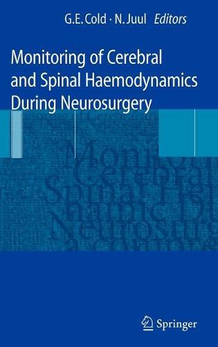Monitoring of Cerebral and Spinal Haemodynamics during Neurosurgery (Hardback)