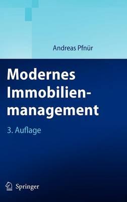 Modernes Immobilienmanagement (Hardback)