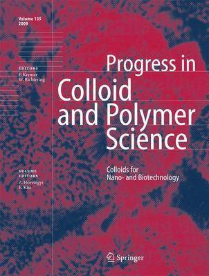 Colloids for Nano- and Biotechnology - Progress in Colloid and Polymer Science 135 (Hardback)