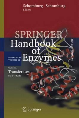 Class 2 Transferases: EC 2.1-2.7.10 - Springer Handbook of Enzymes S2 (Hardback)