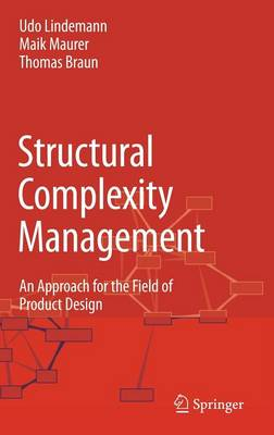 Structural Complexity Management: An Approach for the Field of Product Design (Hardback)