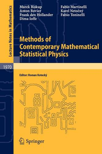 Methods of Contemporary Mathematical Statistical Physics - Lecture Notes in Mathematics 1970 (Paperback)