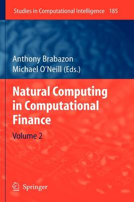 Natural Computing in Computational Finance: Volume 2 - Studies in Computational Intelligence 185 (Hardback)