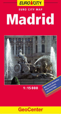 Madrid City Map - GeoCenter City Maps S. (Sheet map, folded)