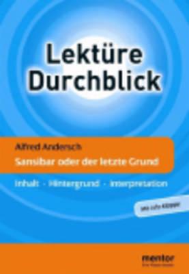 Lekture Durchblick Deutsch Plus: Andersch (Paperback)