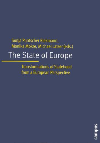 The State of Europe: Transformation of Statehood from a European Perspective (Paperback)