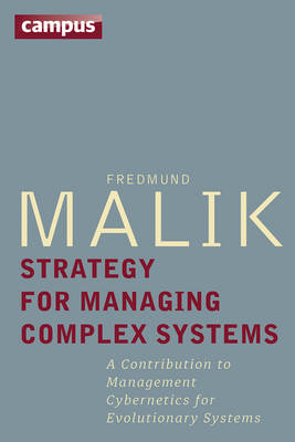 Strategy for Managing Complex Systems: A Contribution to Management Cybernetics for Evolutionary Systems (Hardback)