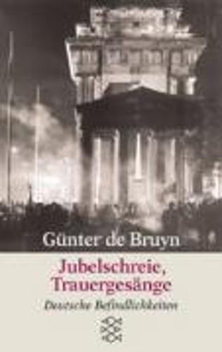Jubelschreie Trauergesange - Fiction, Poetry & Drama (Paperback)