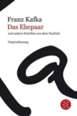 Das Ehepaar Und Andere Schriften Aus Dem Nachlass (Paperback)