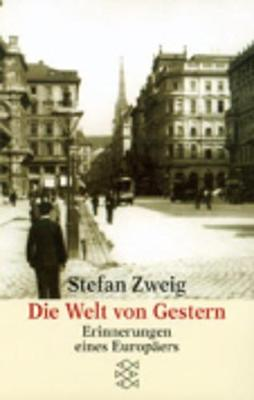 Die Welt von Gestern (Paperback)