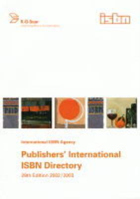Publishers' International ISBN Directory - Handbuch der Internationalen Dokumentation und Information 07 (Hardback)