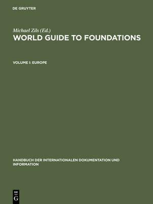 Europe - Handbuch der Internationalen Dokumentation und Information 19/I (Hardback)