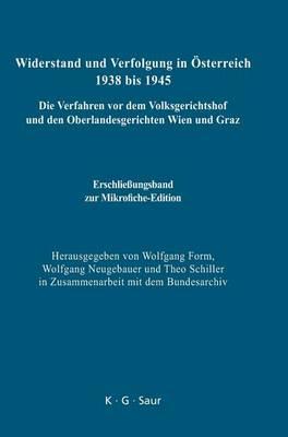 Erschlie ungsband Zur Mikrofiche-Edition (Hardback)
